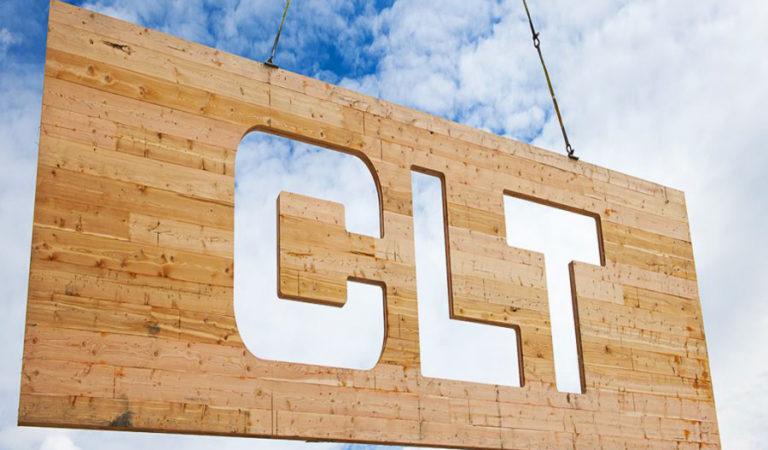 Деревянные перекрестно клееные панели — «CLT-плиты»