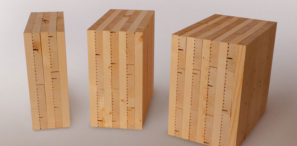 Деревянные перекрестно клееные панели - «CLT-плиты» x-lam