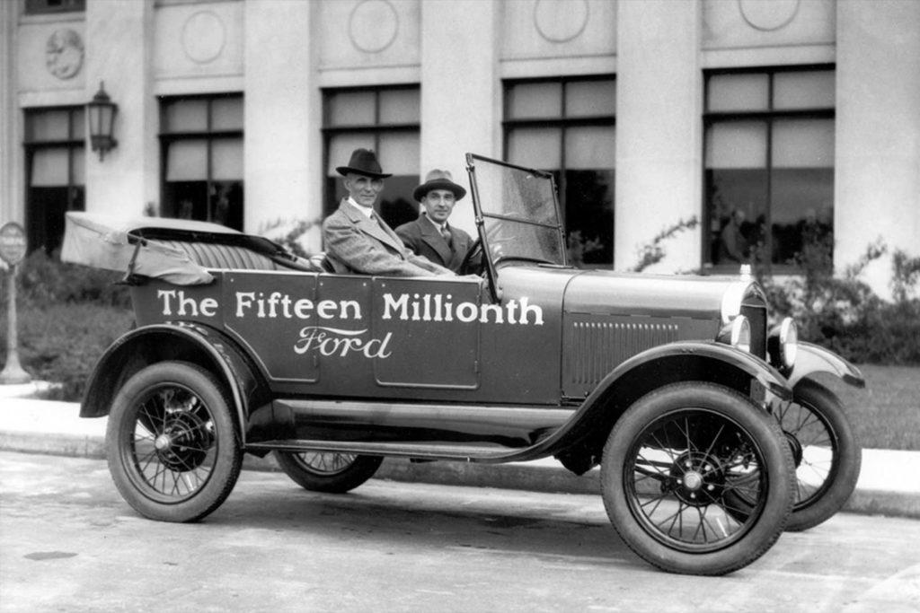 Как добился успеха Генри Форд