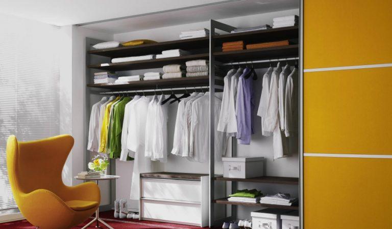 Шкаф-купе и гардеробная – модные мебельные тенденции для хранения вещей