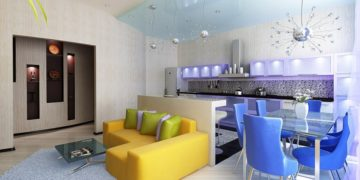 Создаём интерьер квартиры-студии