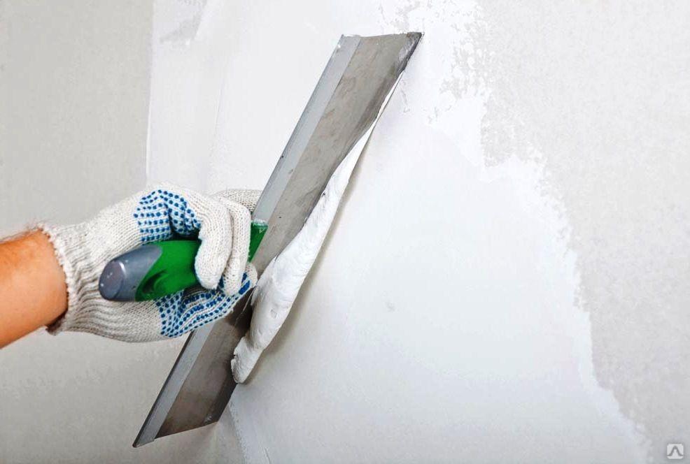 Шпатлевка стен - финишное покрытие